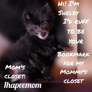 Closet Bookmark @1hapeemom